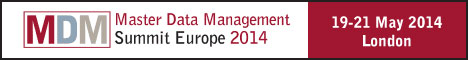 Master Data Management Summit Europe 2014 | 19-21 May, 2014
