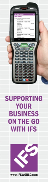 IFS - Supporting yout business on the go with IFS