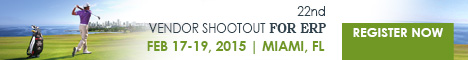 22nd Vendor Shootout for ERP | Miami, FL, February 18-19, 2015