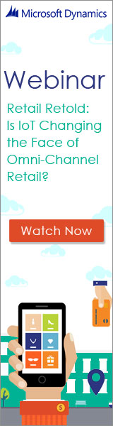 Microsoft Webinar - Retail Retold: Is IoT changing the Face of Omni-Channel Retail? - Watch Now