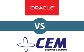 Oracle PeopleSoft Enterprise vs CEM Business Solutions