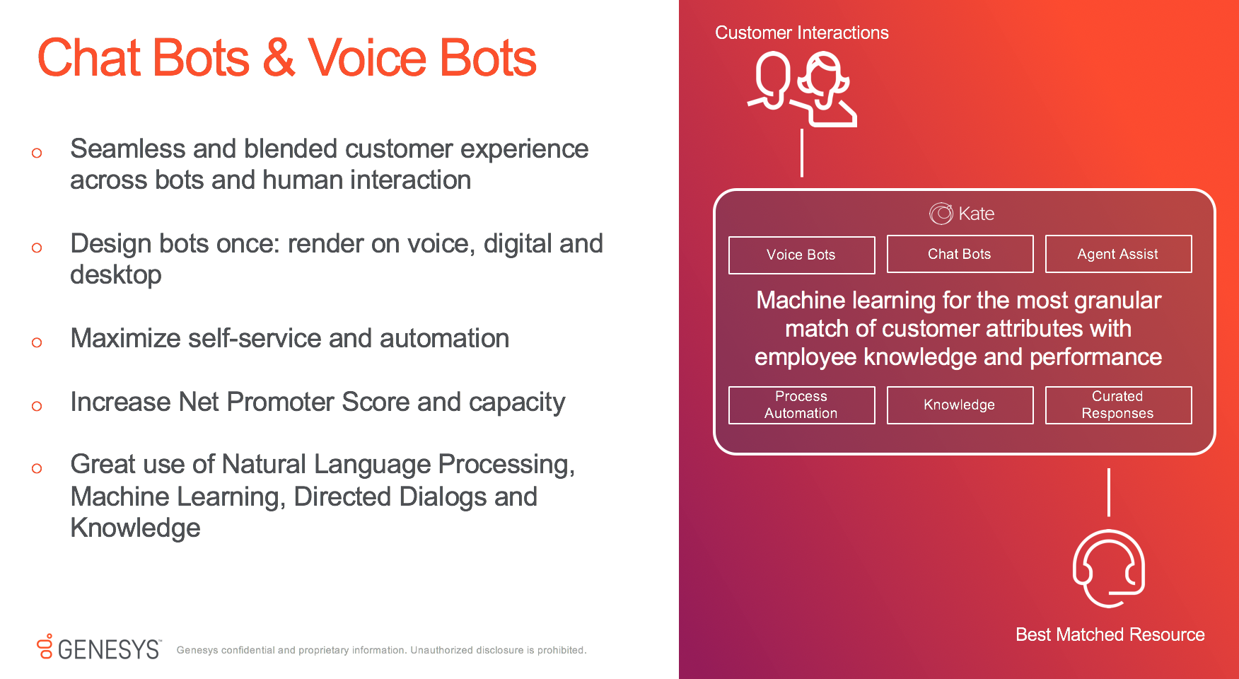 Genesys Offers Voicebots and Chatbots for Omnichannel