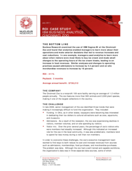 ibm case study analysis