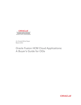 Oracle Fusion HCM Cloud Applications: A Buyer's Guide for