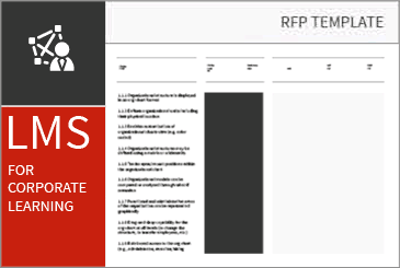 HCM RFP Templates: Software RFI - Requirements Checklist in Excel | TEC