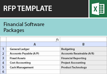 rfp templates software evaluation rfi requirements checklists in