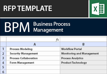 Business process management bpm rfirfp template wajeb Gallery