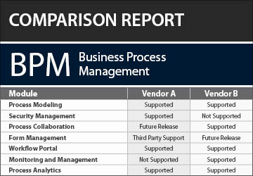 Business process management bpm software evaluation report thecheapjerseys Choice Image
