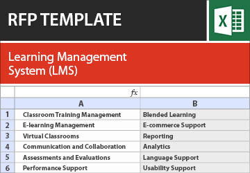 Learning Management Suite Lms Rfp Rfi Template