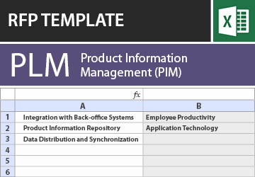Product information management pim rfp template maxwellsz